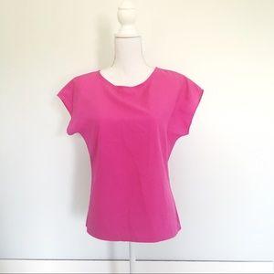 Vintage Hot Pink Blouse